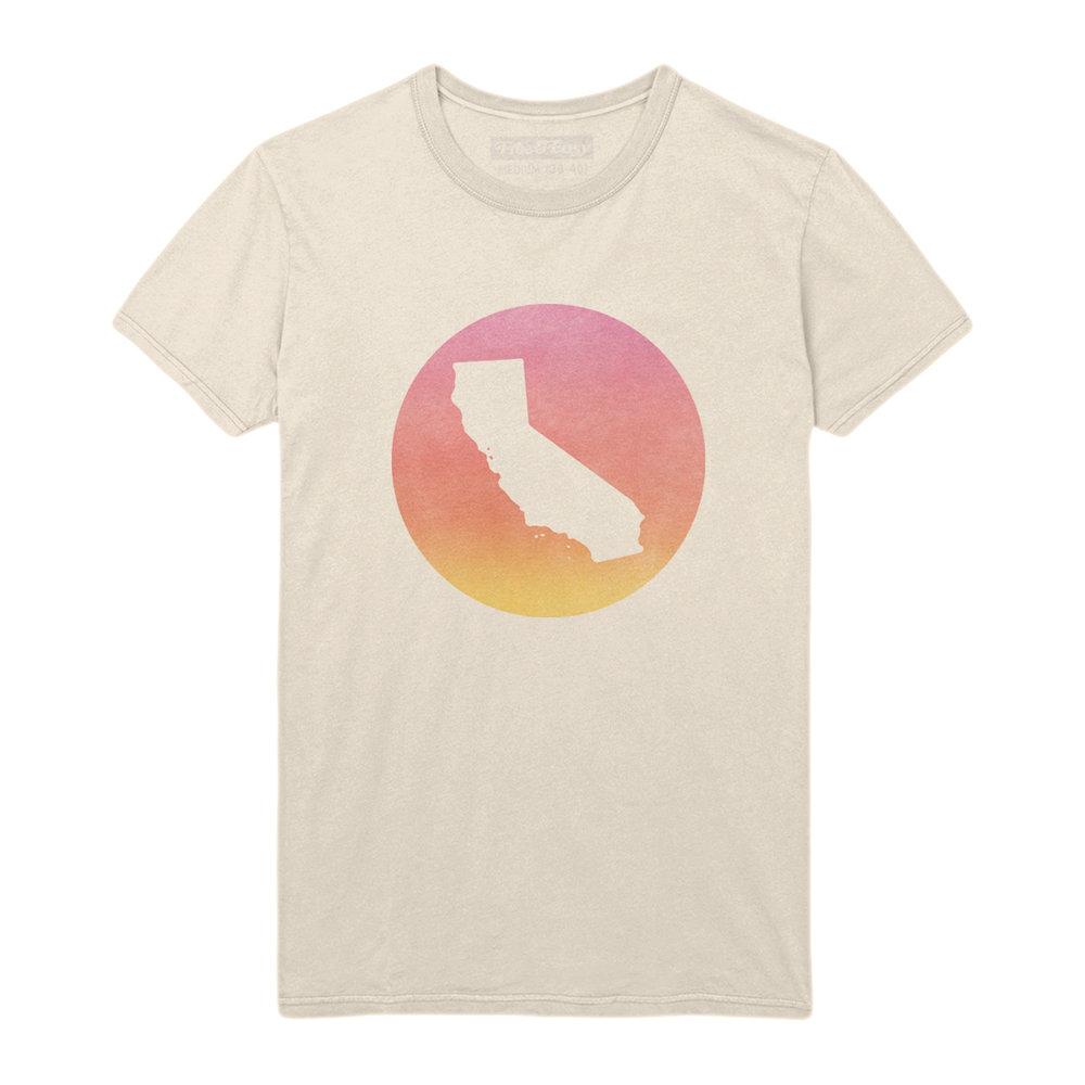 CALIFORNIA SUNSET SS TEE