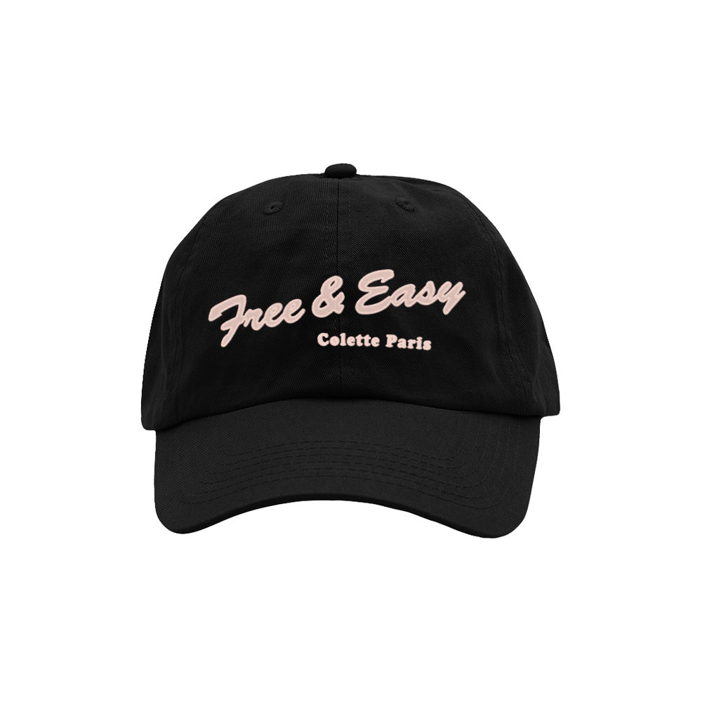 DELI DAD HAT (BLACK)   STYLE #  DH0304   WHOLESALE: €20  SUGGESTED RETAIL: €45