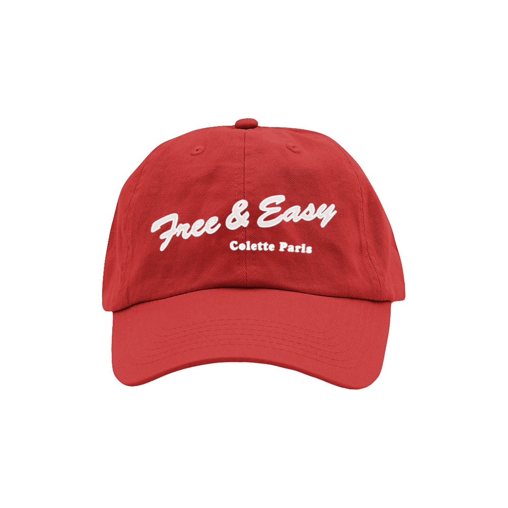 DELI DAD HAT (RED)   STYLE #  DH0303   WHOLESALE: €20  SUGGESTED RETAIL: €45