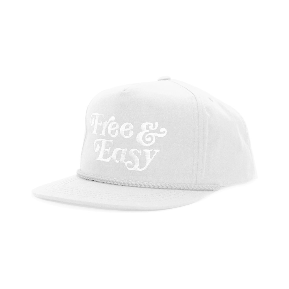 FREE & EASY CLASSIC HAT (WHITE)   STYLE #  CH05  02   WHOLESALE: €20  SUGGESTED RETAIL: €45