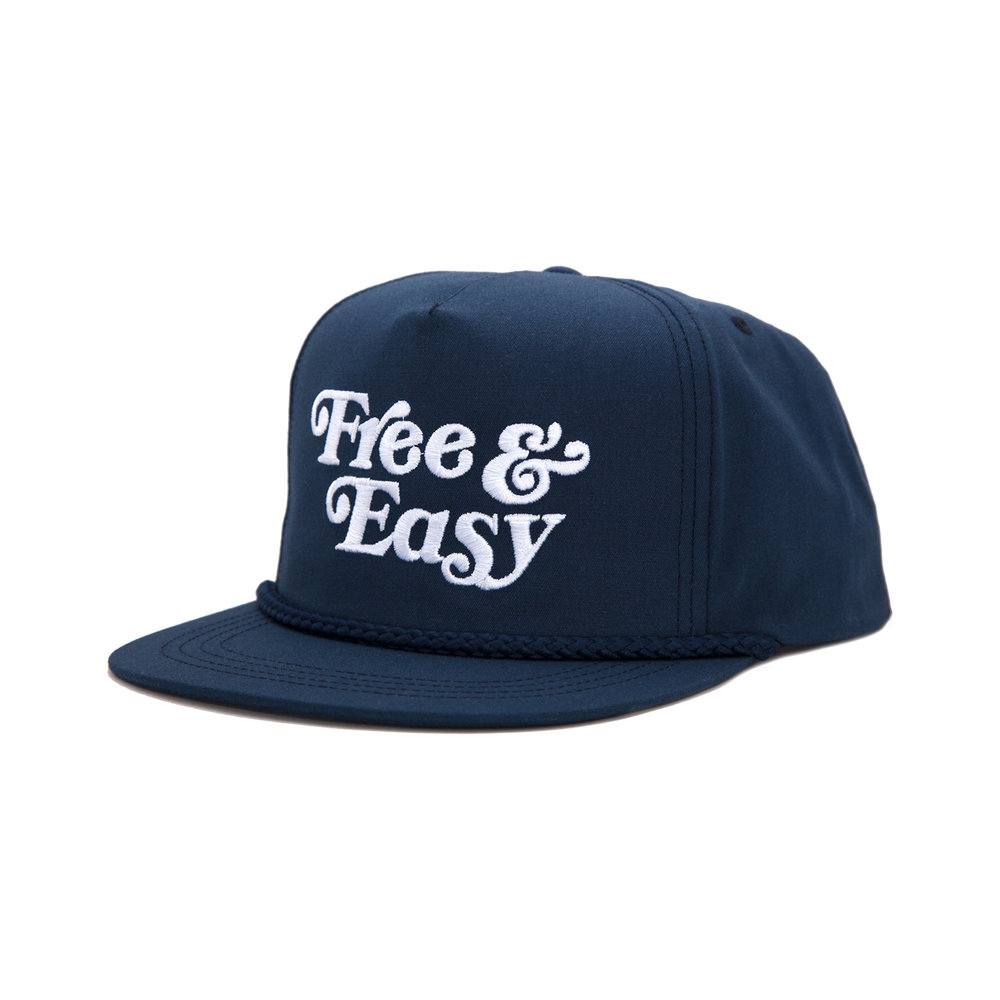 FREE & EASY CLASSIC HAT (NAVY)   STYLE #  CH05  03   WHOLESALE: €20  SUGGESTED RETAIL: €45