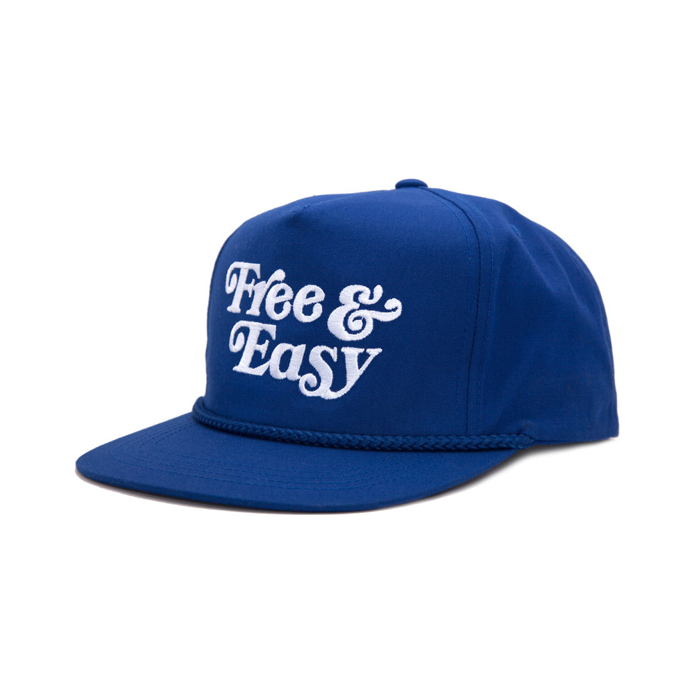 FREE & EASY CLASSIC HAT (BLUE)   STYLE #  CH05  06   WHOLESALE: €20  SUGGESTED RETAIL: €45