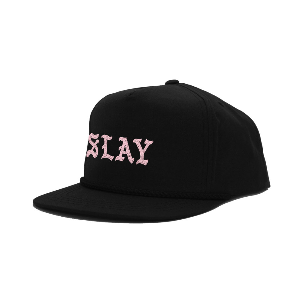 SLAY CLASSIC HAT (BLACK) STYLE # CH0801 WHOLESALE: €20 SUGGESTED RETAIL: €45