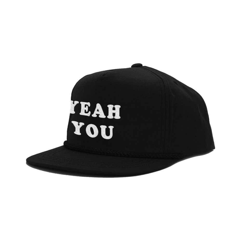 YEAH YOU CLASSIC HAT   STYLE #  CH09  01   WHOLESALE: €20  SUGGESTED RETAIL: €45