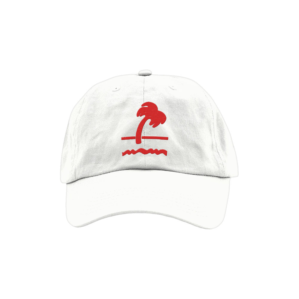 FAST FOOD CULT DAD HAT (WHITE)   STYLE #  DH08  01   WHOLESALE: €20  SUGGESTED RETAIL: €45