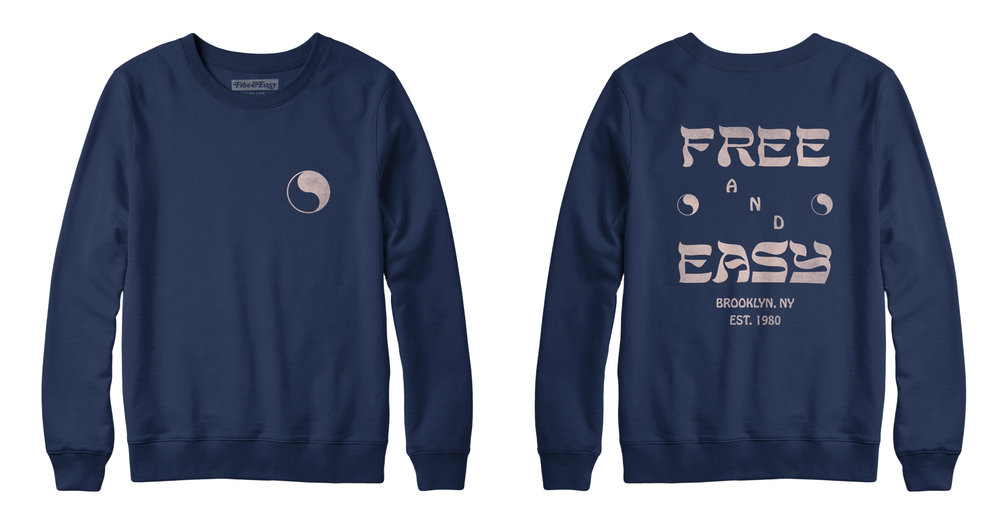 HEBREW CREWNECK SWEATSHIRT