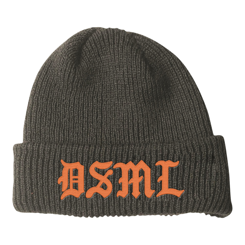 BLACKLETTER BEANIE (FOLIAGE)