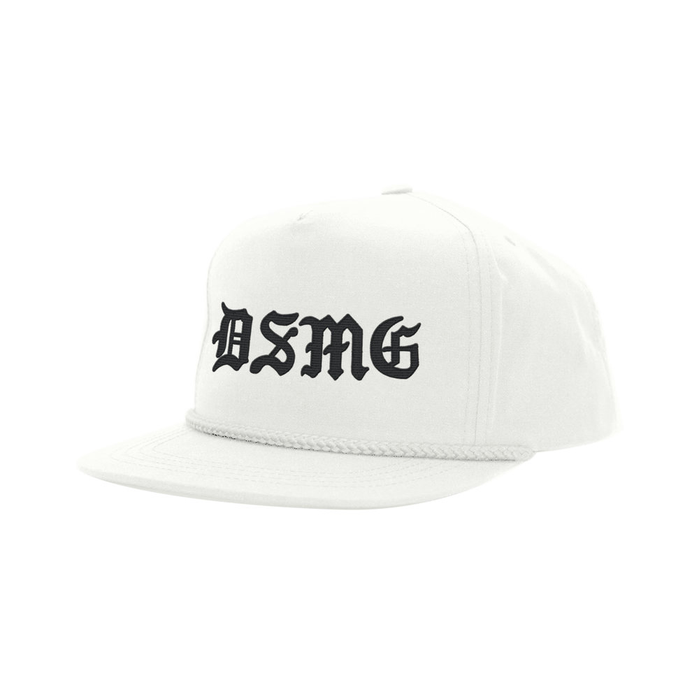 BLACKLETTER CLASSIC HAT (WHITE)