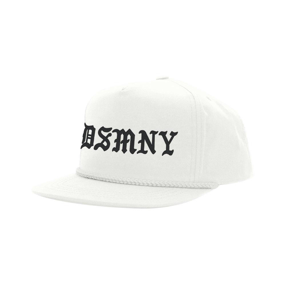 BLACKLETTER CLASSIC HAT (WHITE)