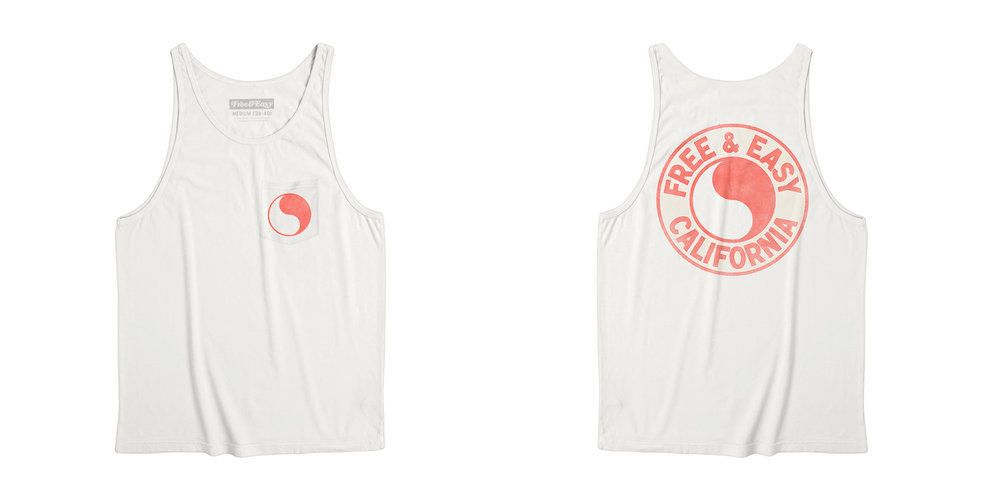 PACIFIC POCKET TANK [WHITE+CORAL]