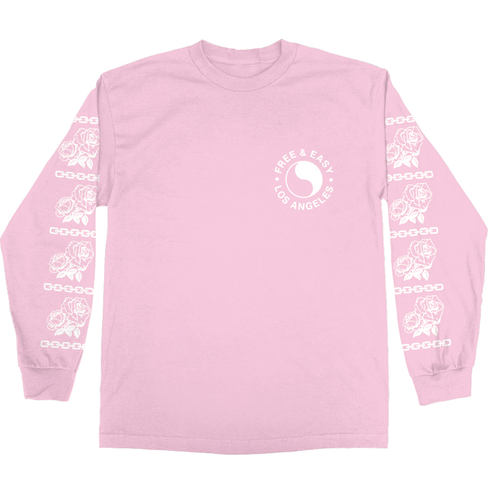 CHAINS & ROSES LS TEE (LILAC)
