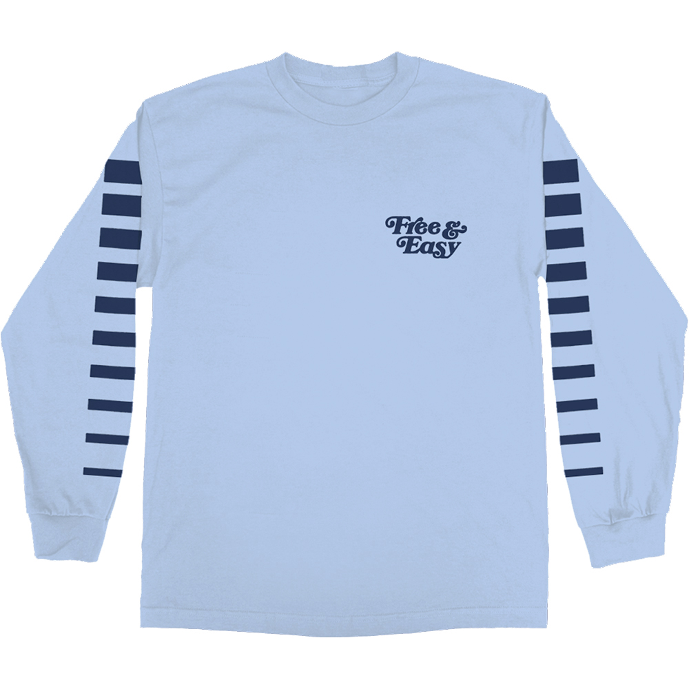 NEW DIMENSIONS LS TEE (ICY BLUE)