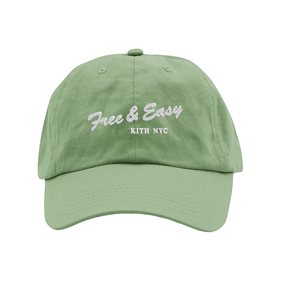 KITH X FE DAD HAT (SAGE)