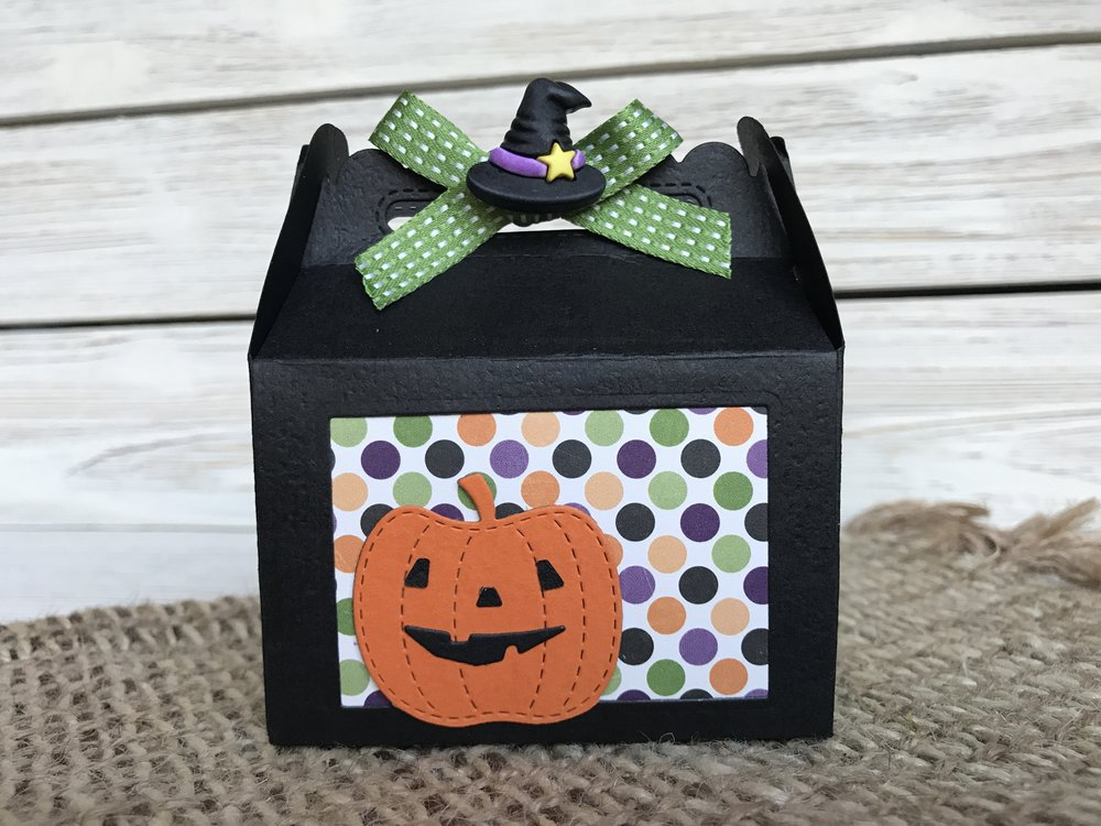 Treat Box with Witch hat
