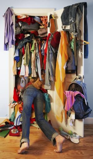 Your closet BEFORE SquirrelBox