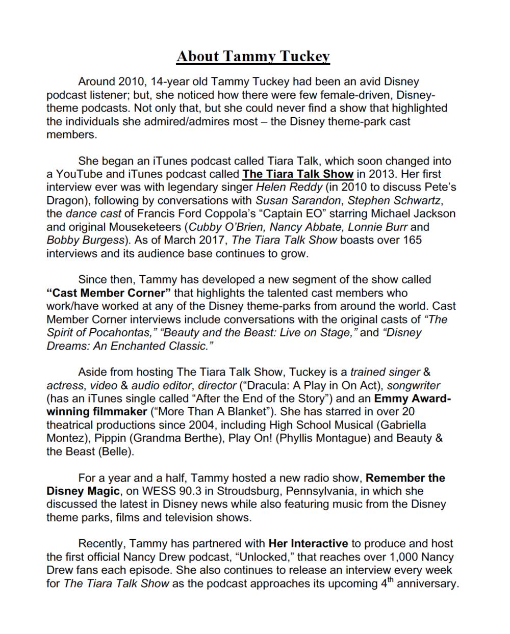 Tammy Tuckey - Resume - Page 2