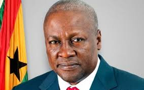 John Mahama, the incumbent and NDC candidate.