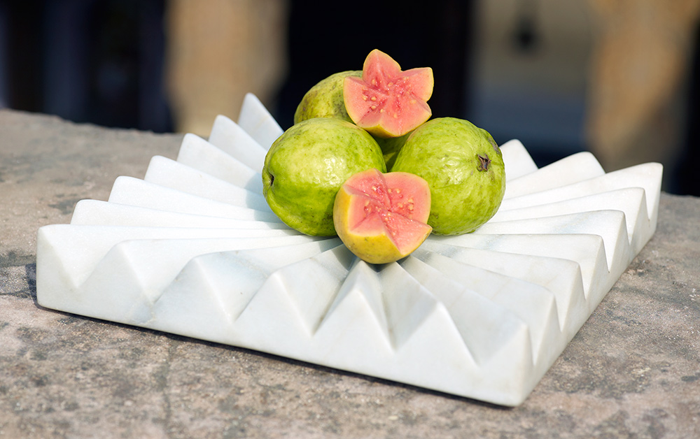 Copy of MARBLE FRUIT TRAY