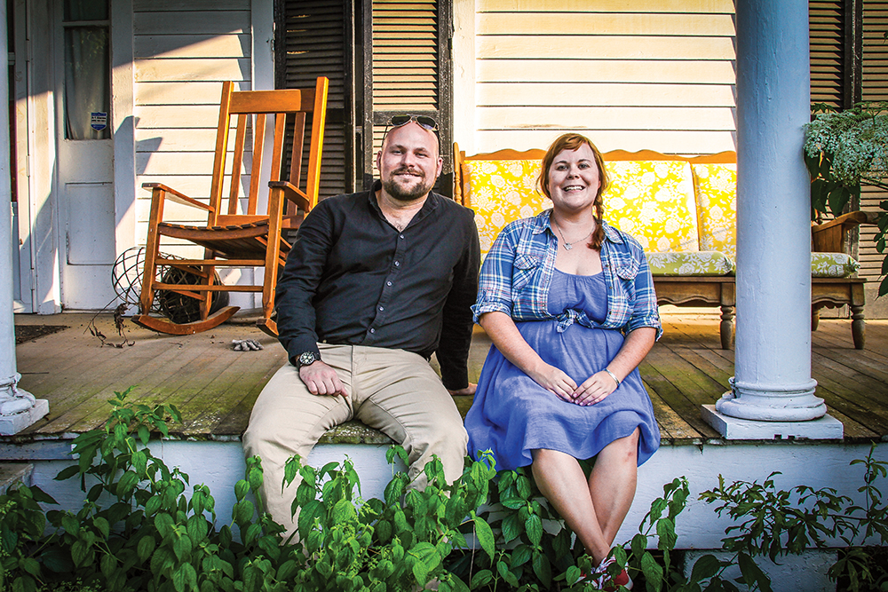 William Doran and Lynley Farris are co-founders of Mid City Studio