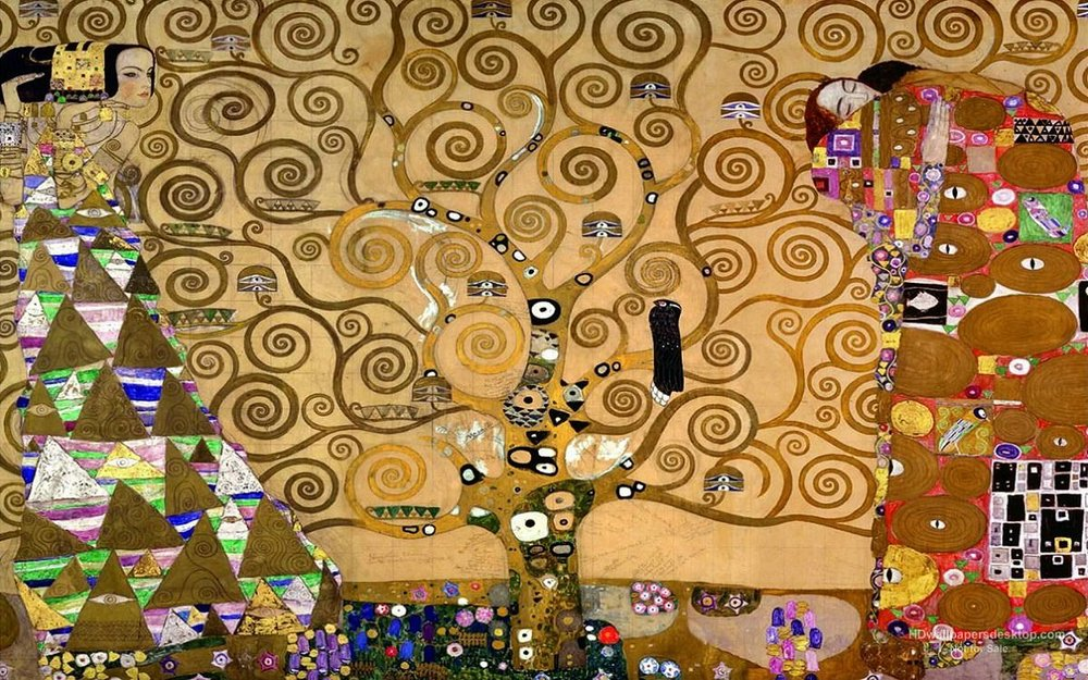 "Klimt's ""Tree of Life"""