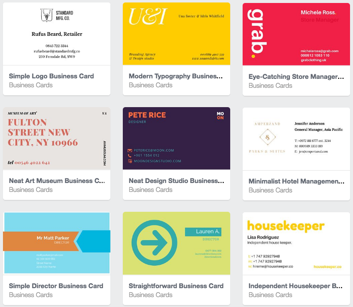 canva business card templates - Canva Business Card