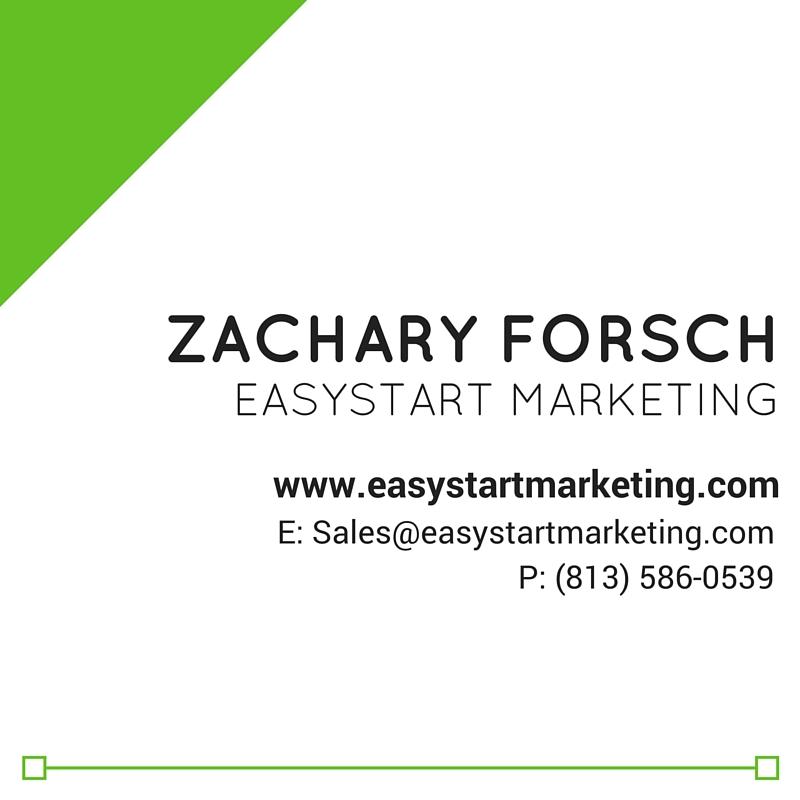 Zachary forsch business card