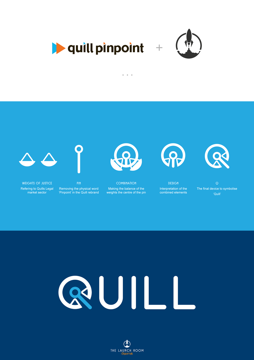 Quill logo development