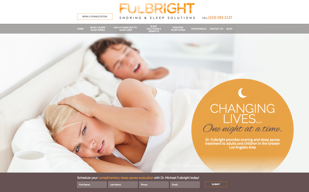 Fulbright Sleep Solutions