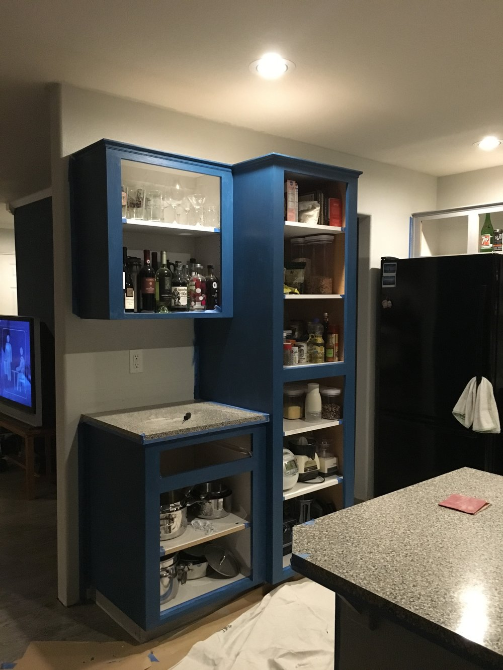 Pantry progress