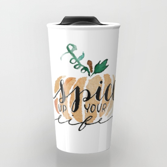 Get it on a mug at  Society 6  for the most delicious of lattes