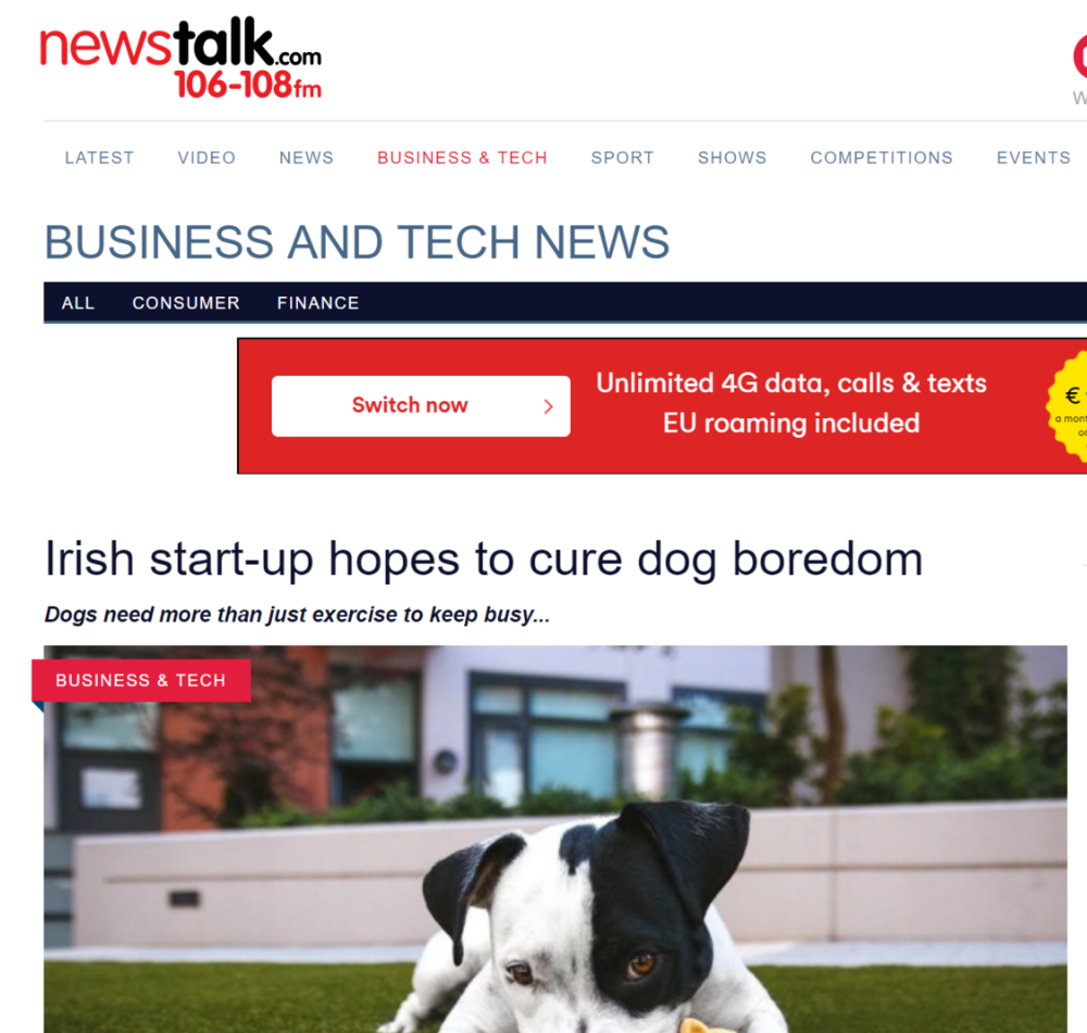 http://www.newstalk.com/Irish-startup-hopes-to-cure-dog-boredom