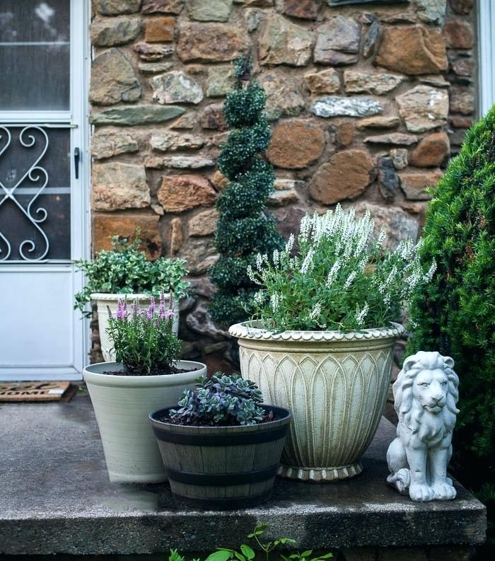 Pots & Planters  - WE LOVE FLORALS- if you haven't picked up on this yet.Grab a few pots and plants from the store and have fun putting together a welcoming focal point.