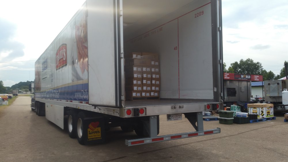 Seaboard Foods donated about 50,000 pounds of pork to help support Operation BBQ Relief and to feed flood victims.