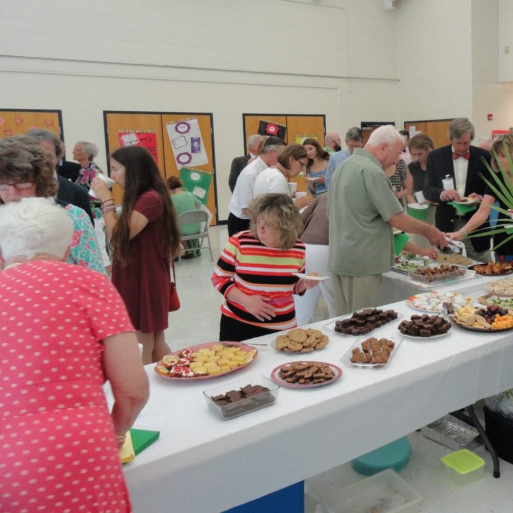 Bishop's Reception 2017 - food line.JPG