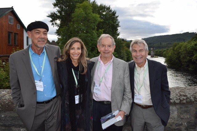 WCC Attendees from DC21 included (from left to right): technical advisor William Collins, executive director Debra Wolf Goldstein, chairman Allen Black, and director Randy Apgar.