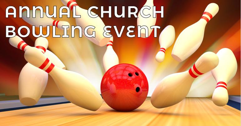 Annual Church Bowling Event