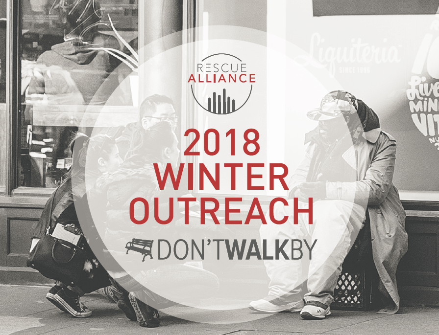 2018 Don't Walk By Winter Outreach