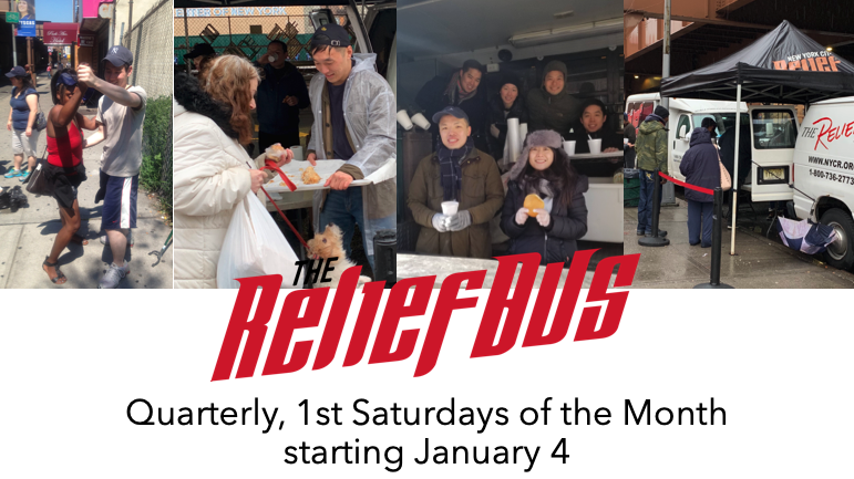 Monthly Relief Bus Outreach 2019