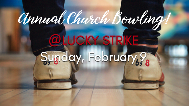 ANNUAL CHURCH BOWLING EVENT