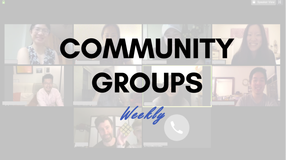 COMMUNITY GROUPS RESUME JANUARY 14