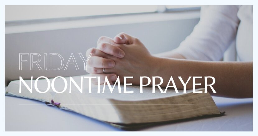 THURSDAYS ARE THE NEW FRIDAY NIGHT PRAYER