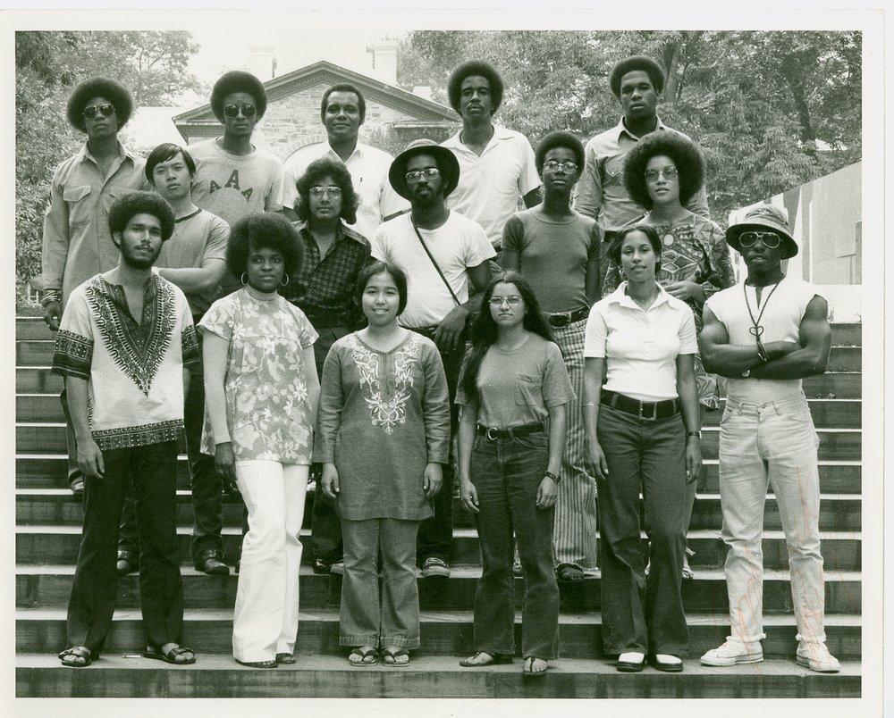 Summer 1972 Minority Orientation TAs