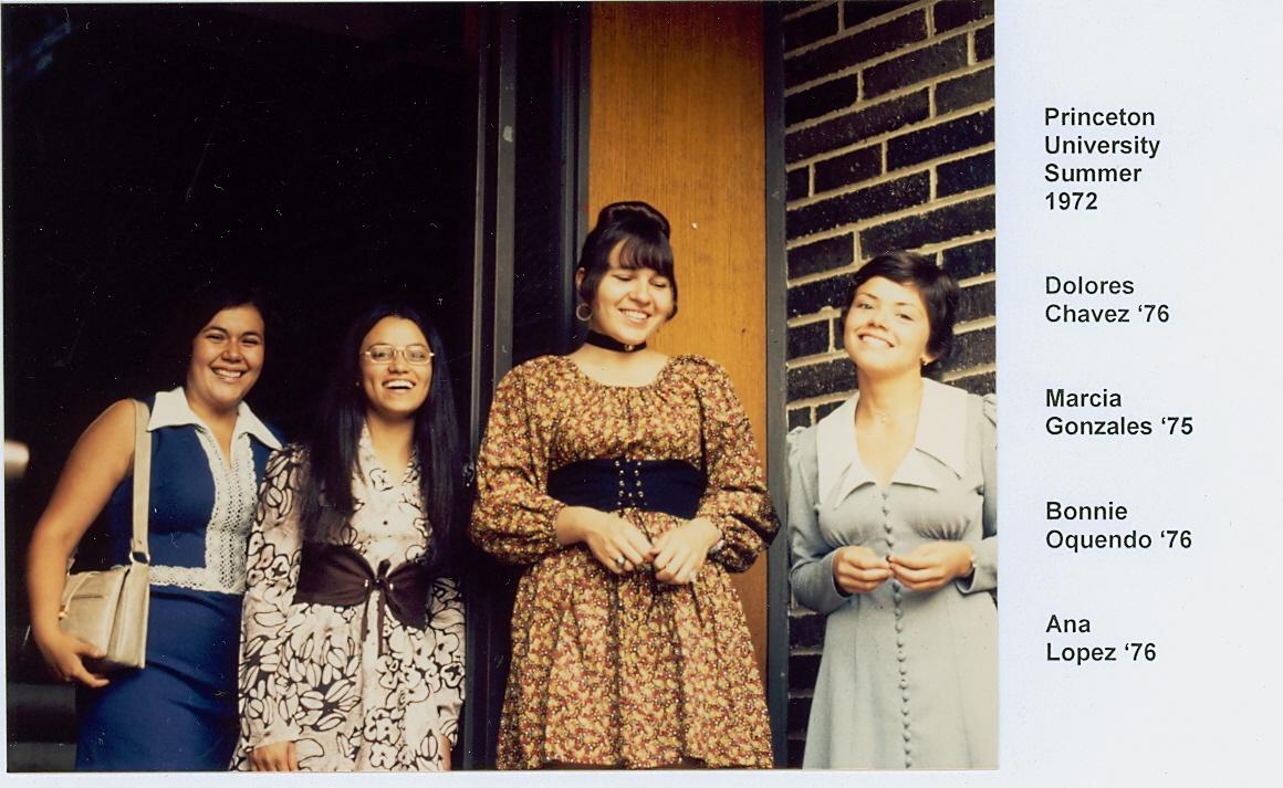 Princeton Latinas at TWC