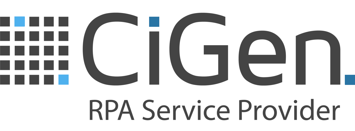 CiGen | Robotic Process Automation | RPA