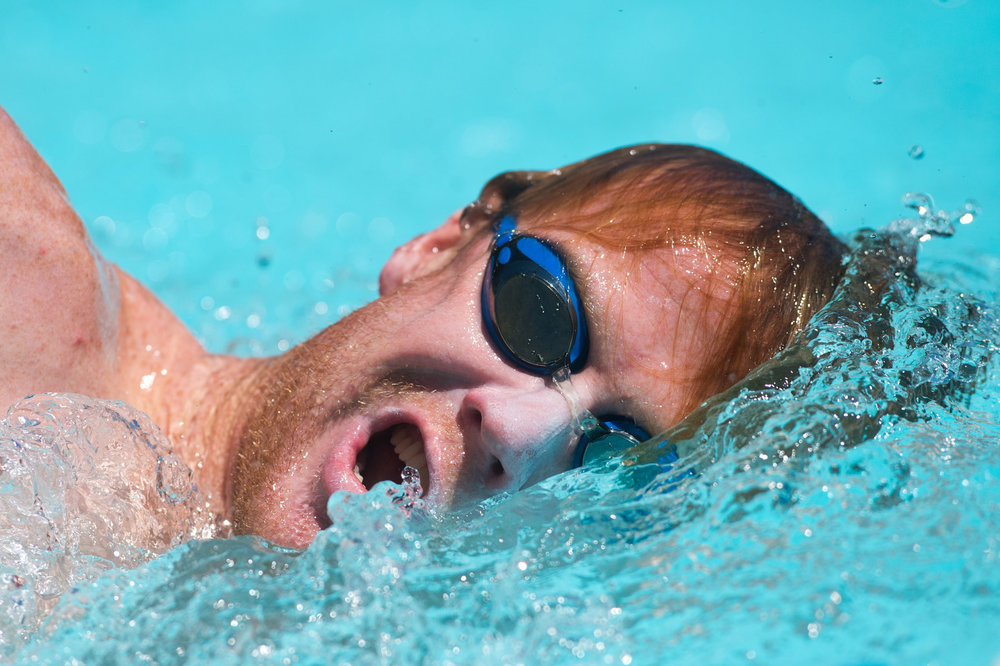 Paul Ambrose swims during a workout with Boulder Aquatic Masters at the pool in Scott Carpenter Park in Boulder, Colo. Boulder city pools at Scott Carpenter Park, North Boulder Recreation Center and East Boulder Recreation Center are slated for $11 million of capital improvements over the next three years.