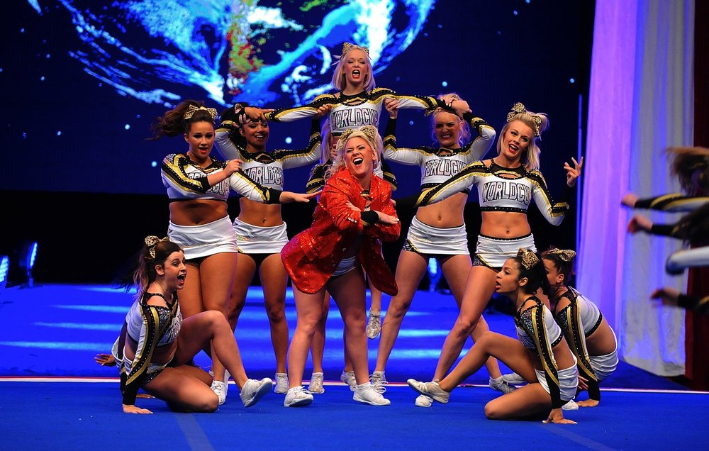 "World Cup All Stars   ""Where Our Cheerleaders Are Our Trophies""   Visit Our Pro Shop"