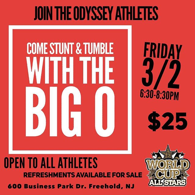 "Come hang out with the. ""The Big O""  this Friday 3/2 from 6:30-8:30 pm."