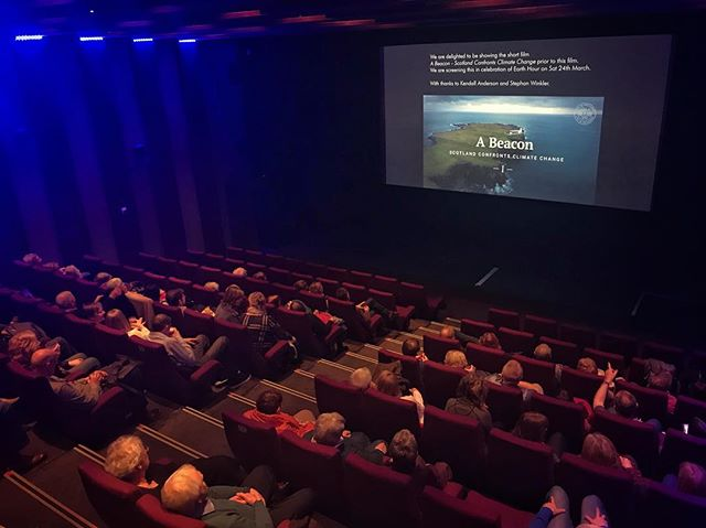 "Already our absolute highlight this year: Presenting our documentary ""A Beacon: Scotland Confronts Climate Change"" in front of a thousand eyes at Eden Court Theatre yesterday. 🎥🌍 In celebration of WWF Earth Hour, Kendall Anderson and I hope this film helps to understand that: ► Climate Change threatens ecosystems and societies around the world. ► To protect our livelihoods, homes, and natural environments, we must act. ► Taking action as an individual can have immediate personal benefits and can cumulatively make a big impact.  We send our sincere gratitude to our interviewees Keith Masson, Climate Change Officer, and Drew Hendry, Member of Parliament. 🙏 🎬 Watch the first part on YouTube (Link in bio). #lifeinpostcards #edencourt #abeacon #scotland #climatechange #globalwarming #premiere #screening #audience #cinema #theater #wwf #earthhour #connect2earth #documentary #film #movie #ecosystem #highlands #visitscotland #inverness #lastnight #keithmasson #drewhendry #indie #notonnetflix #climate #climateaction #beacon #uk"
