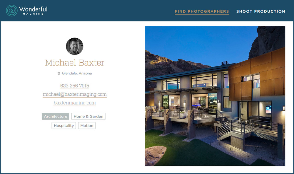 Architectural Photography by Michael Baxter, Baxter Imaging LLC
