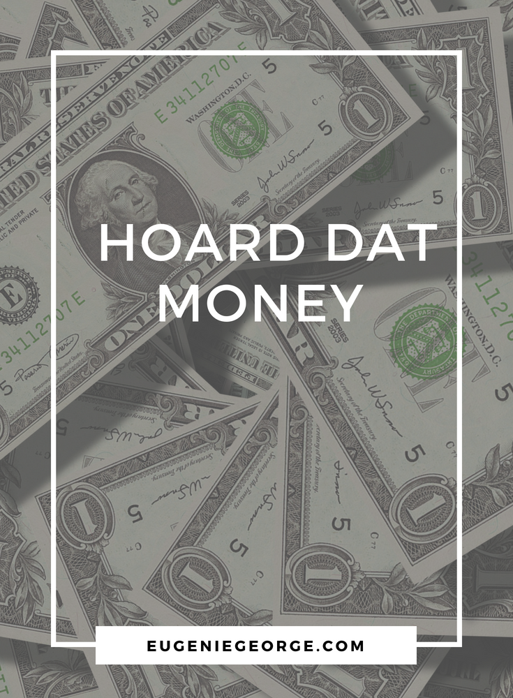 Eugenie_George_hoard_that_Money